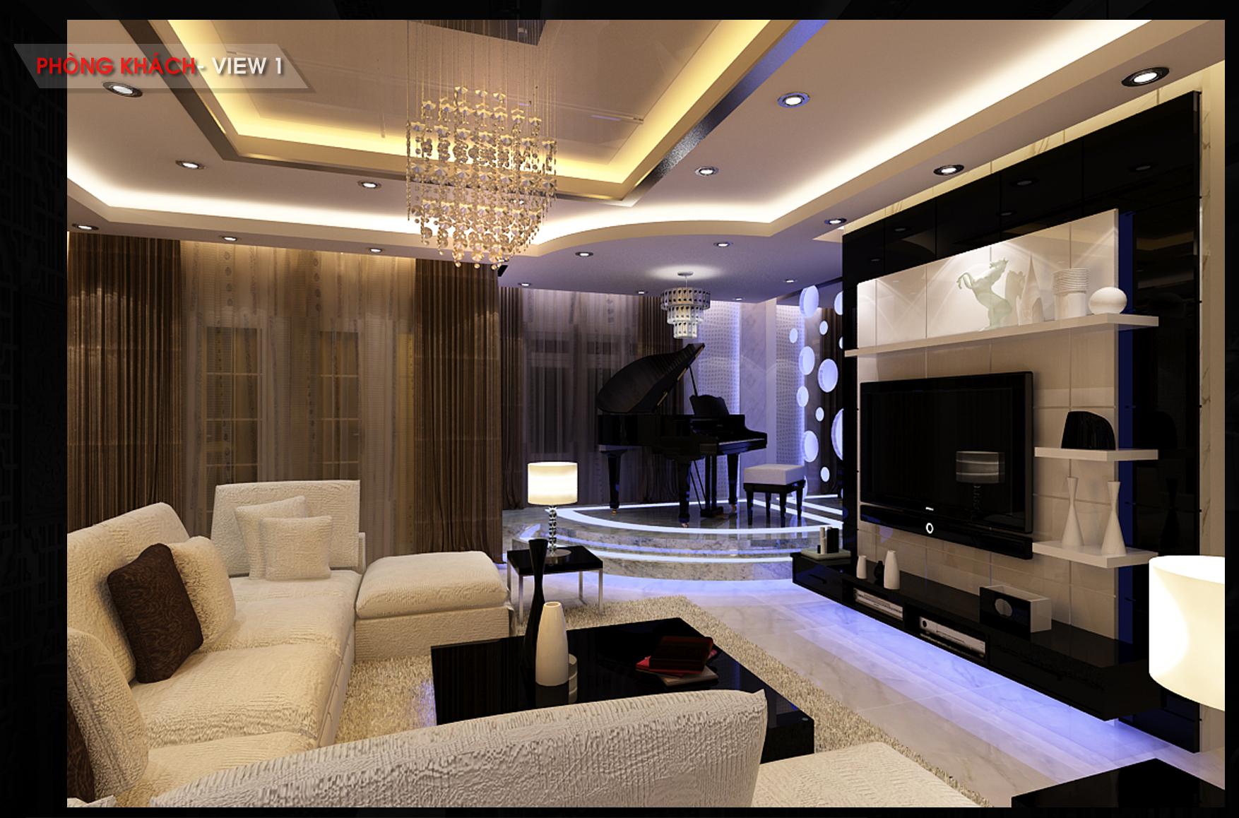 Căn hộ Penthouse - Chị Dung